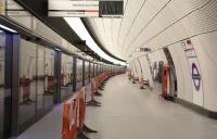 Tottenham Court Road Elizabeth line station enters final commissioning phase.