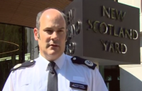 Metropolitan police commander Stuart Cundy giving an update about the criminal investigation into the Grenfell fire.