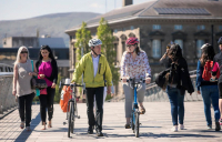 Thousands of miles of new protected bike lanes will be rolled out under new plans to overhaul cycling and walking in England.