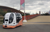 The AECOM-led Capri consortium is running a trial of its driverless pods.