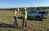 Ecologia, undertaking geotechnical testing.