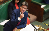 """""""It's time for a bold and ambitious plan to deliver hundreds of thousands of jobs which can also tackle the climate crisis,"""" says Ed Miliband, shadow secretary of state for business, energy and industrial strategy."""