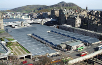 Edinburgh Waverley station.