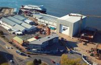 The Ferguson Marine shipyard, Port Glasgow.