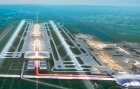A decision on a new runway for the south-east is due in July.