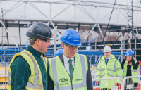 Education secretary Gavin Williamson has met apprentices from Mace to find out more about the next generation of digital skills required by the construction sector.