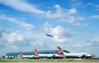 Heathrow blames lack of Covid testing as passenger numbers fall by more than 84% and losses rise to £1.5bn.