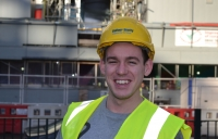 Balfour Beatty apprentice Jack Kleyn - the contractor is hiring another 150 this year.