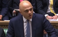 Chancellor Sajid Javid delivering his one-year spending review to parliament.