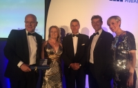 White Young Green staff collect their award for best large firm.