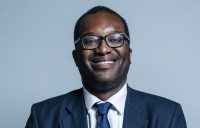 Kwasi Kwarteng, the newly appointed construction minister.
