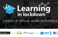 Scape Group gathers industry experts to launch free virtual work experience programme for students in UK secondary schools.
