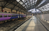 Reopened platforms 1 and 2 at Liverpool Lime Street.