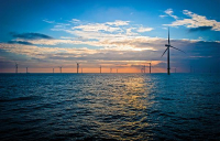 London Array windfarm, off the Kent coast. Image from London Array Limited.