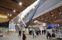 London Bridge station concourse.
