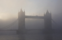 London in the smog