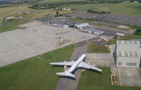 Manston Airport before closure.