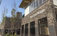 Meridian Water railway station, Enfield.