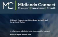 Midlands bids for £596m government funding for 11 road schemes.