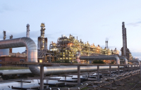 SABIC UK's Olefins 6 plant at Wilton on Teesside.
