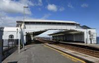 A fibre reinforced polymer footbridge at Dawlish railway station