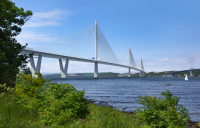 The Queensferry Crossing, one of the projects which led to Galliford Try's construction division posting an £89m loss.
