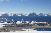 Rothera research station in Antarctica. Photo: Alan Roper.