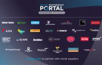 25 leading companies back Social Partnership Portal, designed to drive social value across public sector procurement.