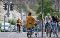 More than 200 projects across Scotland are to receive a share of £27m funding for walking, cycling and wheeling infrastructure.