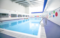 An example of one of the Box Architects/ReCreation Group  sustainable swimming pools.