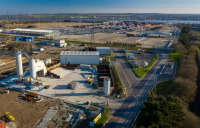 Tarmac and Forth Ports have agreed a 25-year deal to create the UK's largest construction materials terminal at Tilbury2.