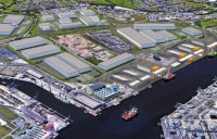 GE Renewable Energy will build a new state-of-the-art offshore wind blade manufacturing factory on the south bank of the Tees.