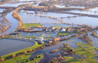 The £501m River Thames flood alleviation scheme will support the local economy as it recovers from the pandemic.