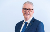 Tony Barry, the new president of FIDIC, the International Federation of Consulting Engineers.