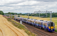 Construction expected to get underway on £63m electrification of Barrhead corridor in April 2022, with completion by December 2023.