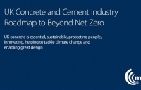 UK concrete and cement industry launches roadmap to become net negative by 2050.