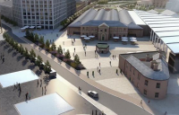 Homes England and Network Rail will invest £77m to ensure that York's new city centre quarter development goes ahead.