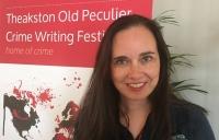 Yrsa Sigurðardóttir pictured at the Theakston Crime Writing Festival in Harrogate in July.