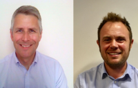 Gavin Jack (left) and Scott Lydon, new divisional directors at Clancy Consulting.