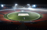 The Narendra Modi cricket stadium at Motera in India, one of the shortlisted entries in this year's FIDIC Project Awards.