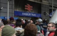 Finsbury Park at Christmas 2014