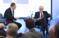 Lord Heseltine in conversation with Antony Oliver at the ACE conference