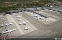 A still from the Manchester Airport video.