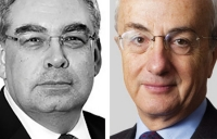 Balfour Beatty chairman Steve Marshall and Carillion chairman Philip Green