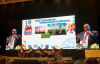 ACE chief executive Nelson Oginshaking speaking at the recent FIDIC general assembly meeting in Jakarta, Indonesia.