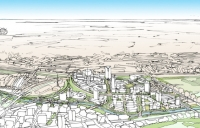 old oak common is making use of railway land