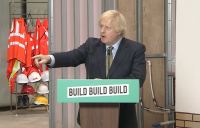 "UK prime minister Boris Johnson has pledged to ""build, build, build"" the country out of its post-Covid economic difficulties."
