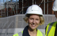 Shadow Housing Minister Emma Reynolds backs local builders