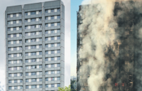 Grenfell Tower - before and after.