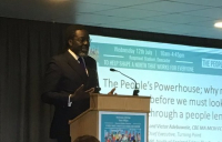 """The future is about the things that we don't talk about"" - Victor Adebowale, chief executive of Turning Point."